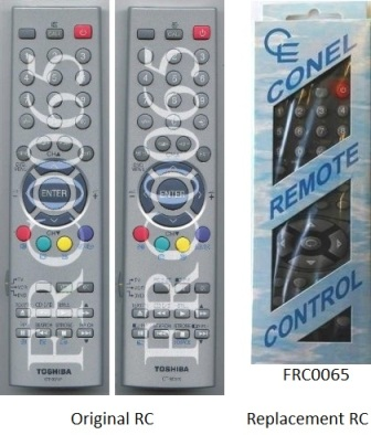 FRC0065 FRC0065 TV CT90128,CT90141,CT90140,CT90170,RC-GX TOSHIBA Model:21N21B2,LCDTV32WL36P,TV34VH9UR