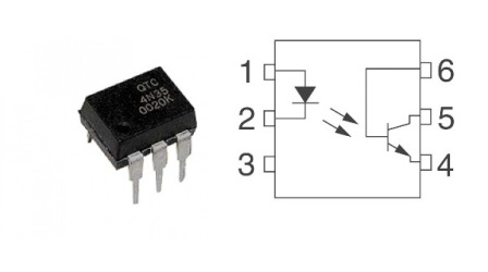 4N35 DIP6 4N35 DIP6 Optocoupler,Phototransistor Output,With Base Conn.