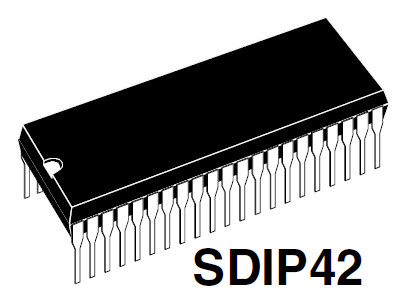 SPM109-1 SDIP42 SPM109-1 SDIP42 IC CPU SAMSUNG TV