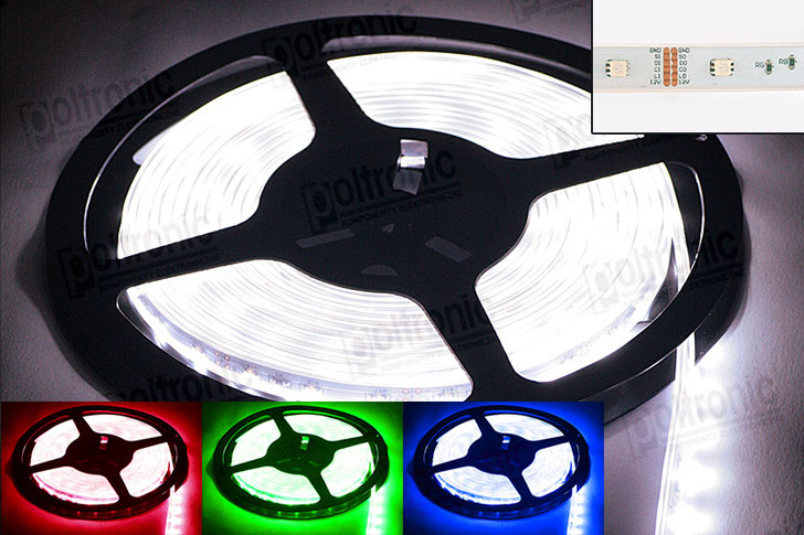 LED LS5150RGB-C-W LED LS5150RGB-C-W WATERPROOF LED STRIP WITH A CONTROLLER