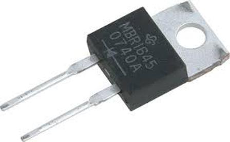 MBR745 TO220 MBR745 TO220 Schottky diod 45V 7.5A Same as:STPS745