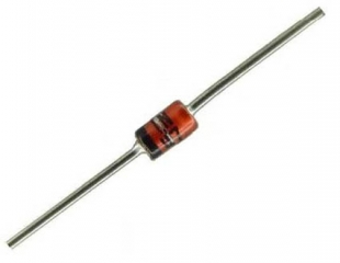ZENER 5.1V/1W DO41 ZENER 5.1V/1W DO41 1N4733A/BZX85C5V1 5.1V 1W 10%  ZENER DIODE