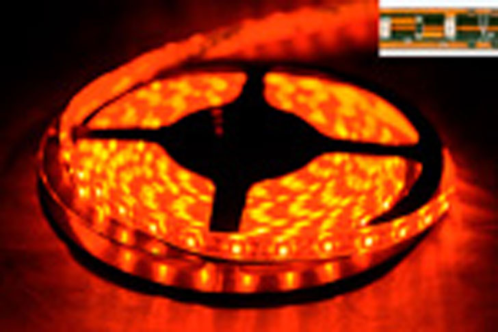 LED LS5300R 60LEDS/M LED LS5300R 60LEDS/M LED STRIP RED 120C 250-300mCd/Led 620-630nm 50000h