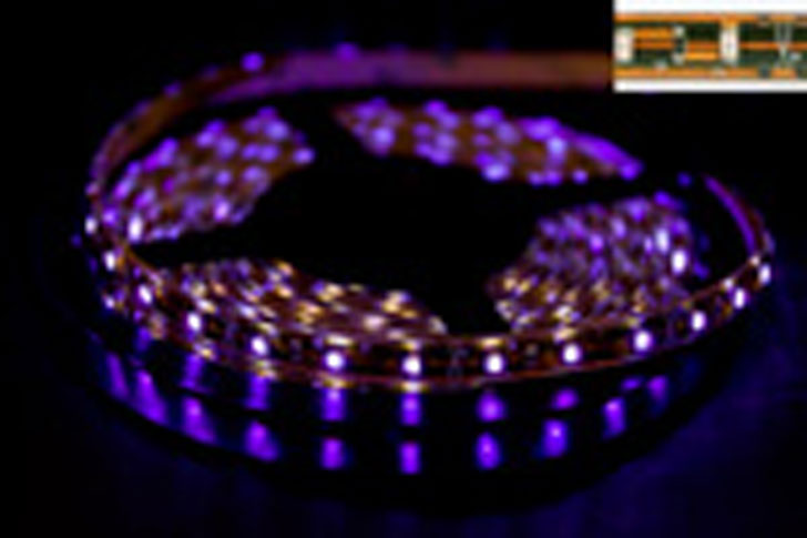 LED LS5300V 60LEDS/M LED LS5300V 60LEDS/M LED STRIP VIOLET 120C  50000h