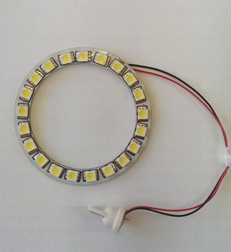 ANGEL EYES 70MM 5050LED CW ANGEL EYES 70MM 5050LED CW LED ANGEL EYES 70MM 21pcs. 5050LED CW