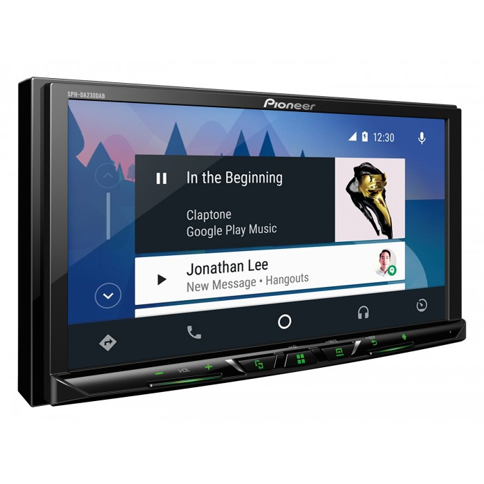"PIONEER SPH-DA120 AppRadio c 7"" екран, GPS, Bluetooth, Android, iPhone 5 и MirrorLink"