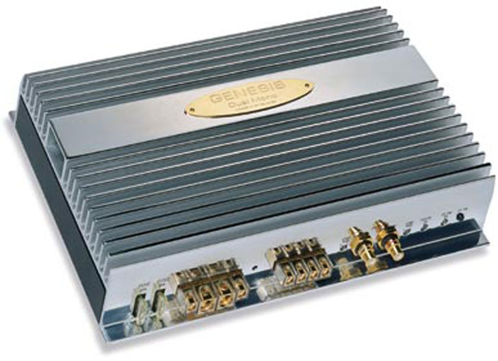 GENESIS DUAL MONO DUAL MONO AMPLIFIER 2 x 100W / 1 x 400W at 4 ohms