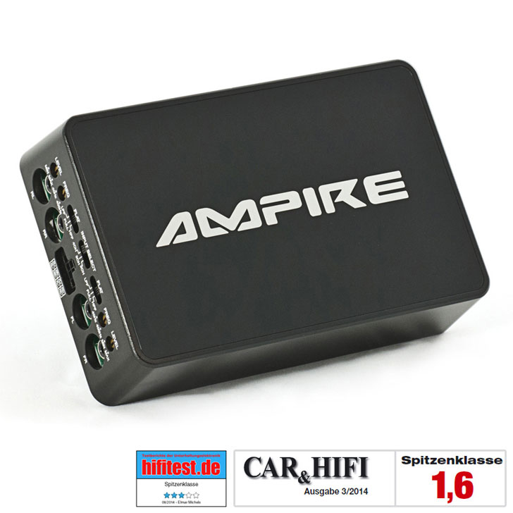 AMPIRE MMX4 CLASS-D AMPIRE 4 Channel Digital Amplifier 4x100W