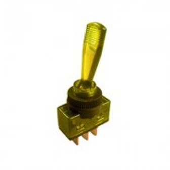 SW TS23L-12-YELLOW SW TS23L-12-YELLOW Toggle switch, illuminated 253222