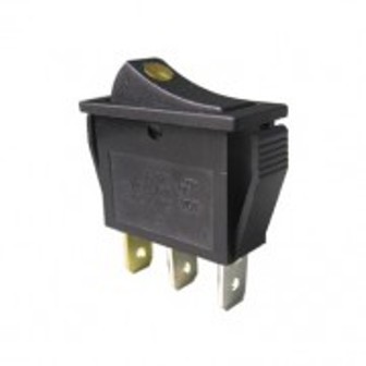 SW RS-23LS-12-Y SW RS-23LS-12-Y Rocker Switch Illuminated YELLOW