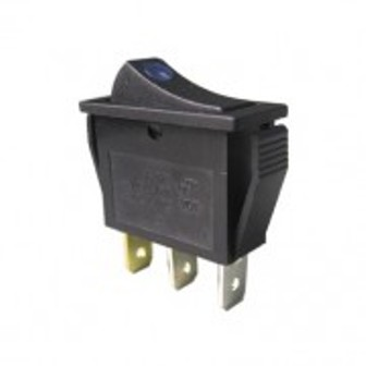 SW RS-23LS-12-B SW RS-23LS-12-B Rocker Switch Illuminated  BLUE