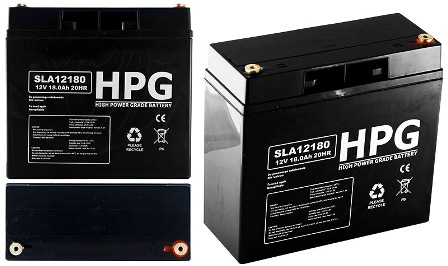 ACCU 12V/18AH ACCU 12V/18AH High power grade battery size LxWxH(181x77x167)mm