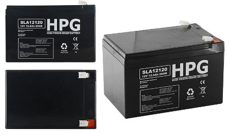 ACCU 12V/12AH HPG120120 ACCU 12V/12AH HPG120120 High power grade battery size LxWxH(151x98x95)mm