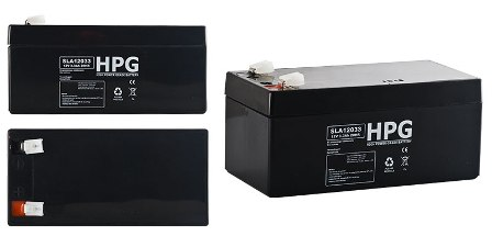 ACCU 12V/3.3AH HPG12033 ACCU 12V/3.3AH HPG12033 High power grade battery size LxWxH(134x67x61)mm