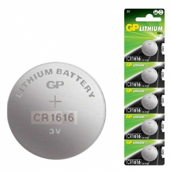 BAT CR1616 GP BAT CR1616 GP Л�Т�ЕВА БАТЕР�Я 3V d=20mm h=1.6mm