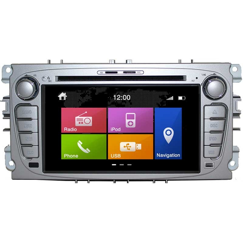 MULTIMEDIA FORD DYNAVIN N6 DOUBLE DIN FORD GALAXY , Навигация за  ФОРД МОНДЕО