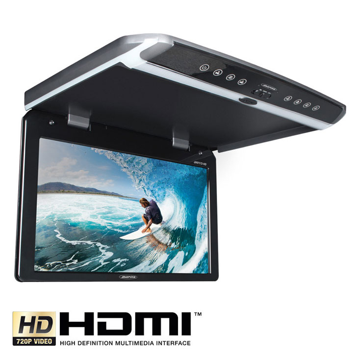 AMPIRE OHV101HD ROOF MONITOR Монитор за таван с USB Full HD Roof Mount Monitor 25cm (10,1