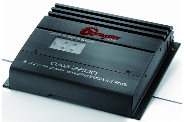 DRAGSTER DAB 2200 2 channel 360W total RMS power