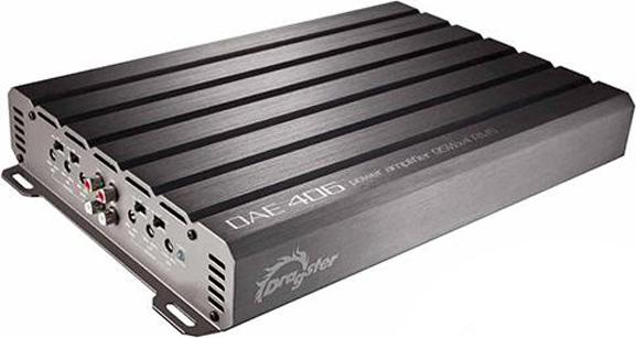 DRAGSTER DAE 406 amplifiers Class A/B 4-channel 60W x 4-ch  4-ohm