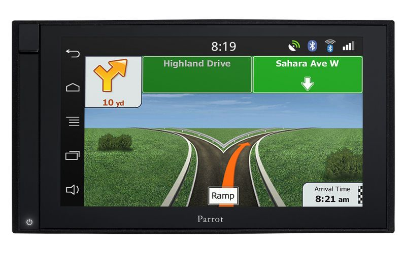 PARROT ASTEROID SMART 2-DIN GPS MULTIMEDIA 2-DIN автомобилна мултимедия с GPS навигация 6,2 Multi-touch