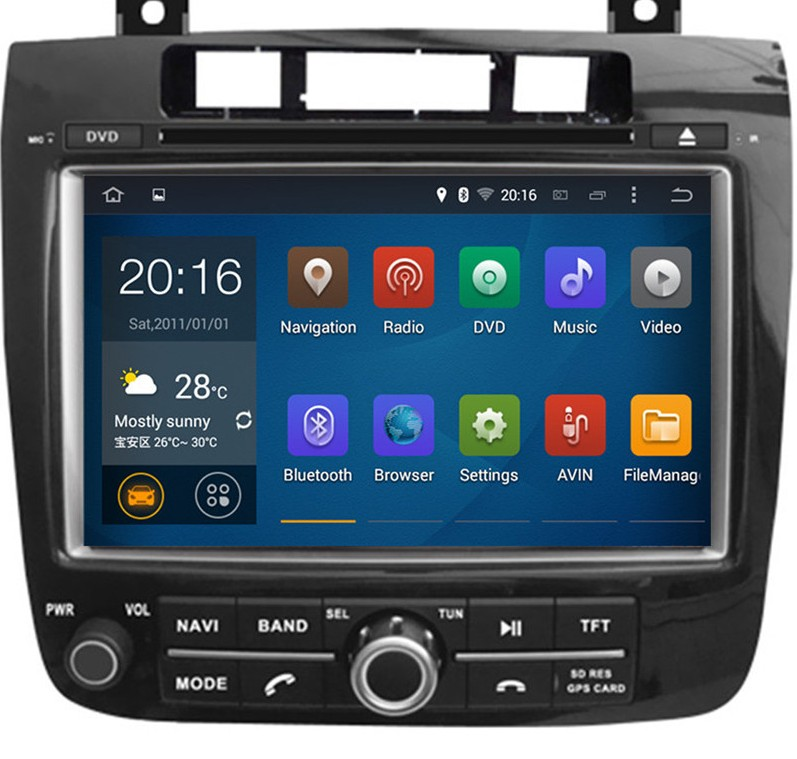 MULTIMEDIA VW TOUAREG 2013  DOUBLE DIN/ДВОЕН Д�Н  VW TOUAREG 2013 ANDROID 5.1