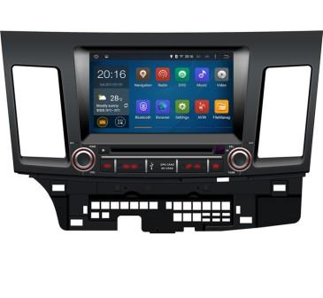 MULTIMEDIA MITSUBISHI LANCER 2007-2012 DOUBLE DIN  MITSUBISHI LANCER 2007-2012 ANDROID 5.1 GPS DVD USB BLUETOOTH