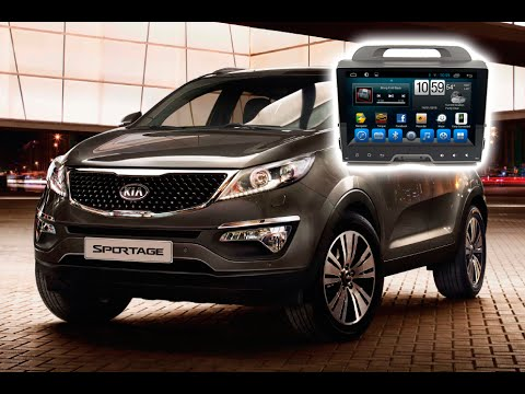 MULTIMEDIA KIA SPORTAGE 2010- Навигация за KIA SPORTAGE 2010-  ANDROID  GPS DVD USB BLUETOOTH