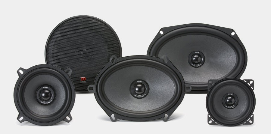 MOREL TEMPO ULTRA INTEGRA 402 MOREL 10см  коаксиални говорители  60Watt RMS 85dB  80-22000 Hz