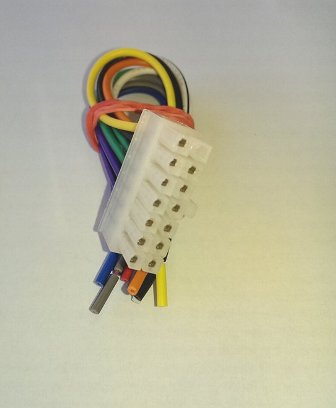 CABLE-ISO KENWOOD 14PIN MALE кабел авто ISO към авторадио KENWOOD 14pin