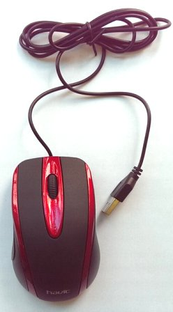 HV-MS753 USB OPTICAL MOUSE HV-MS753 USB OPTICAL MOUSE Оптична мишка за компютър