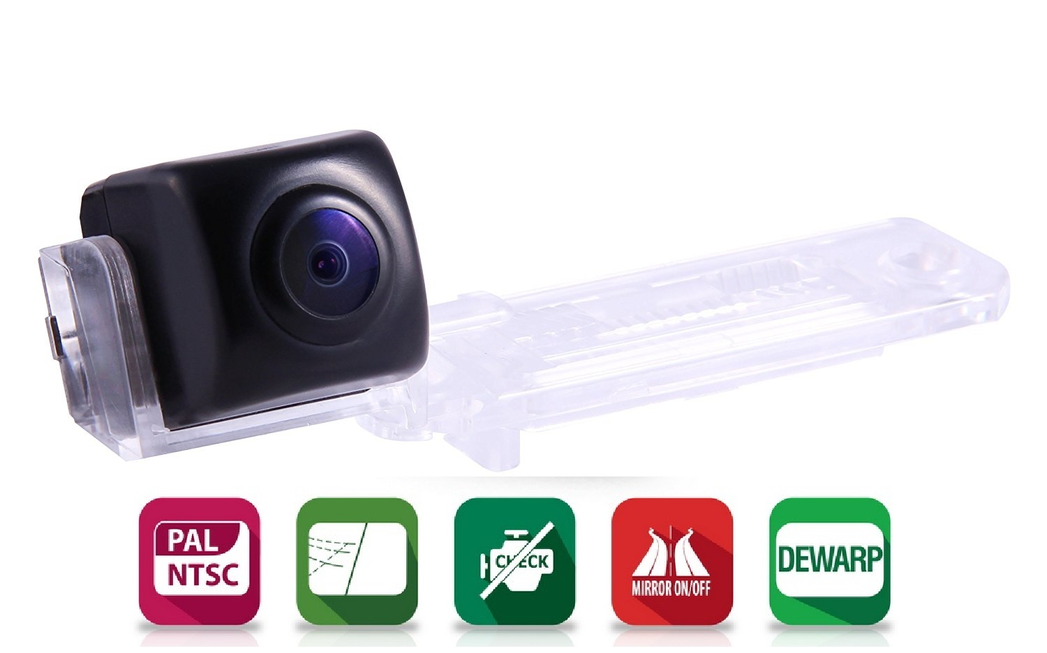 CAR CAMERA GAZER CC155 CA3D0 Висок клас автомобилна камера за VW , SKODA , SEAT  175° PAL and NTSC