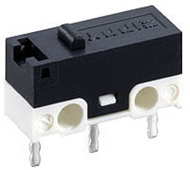 BUTTON SWITCH 12.7X5.8X6.65 MM BUTTON SWITCH 12.7X5.8X6.65 MM Micro Switch with lever/Краен прекъсвач 1A 250VAC