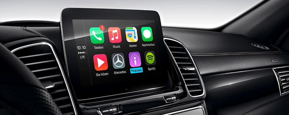 CarPlay Mercedes ML GL 2015-2016 NTG5.0 CLA, GL, GLS ,GLC,GLA 2016-2017