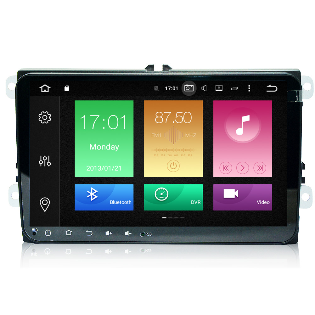 MULTIMEDIA VW 9 INCH ANDROID 7.1 2G Двоен дин за VW 9 инча Android 7.1  4-core 2G/16 /БЕЗ Д�СК/