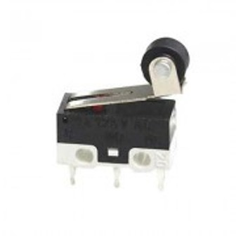 BUTTON SWITCH 12.7X5.8X6.65 MM С РОЛКА BUTTON SWITCH 12.7X5.8X6.65 MM С РОЛКА Micro Switch with lever/Краен прекъсвач 1A 250VAC