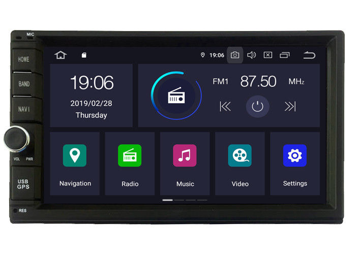 MULTIMEDIA UNIVERSAL ANDROID 9.0 2 DOUBLE DIN  Универсален двоен дин Андроид 9.0 , double din Android 9.0 2 Din Autoradio GPS Player