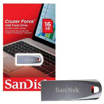 USB FLASH MEMORY 16GB CRUZER FORCE USB FLASH MEMORY 16GB Cruzer Force USB флаш памет 16GB