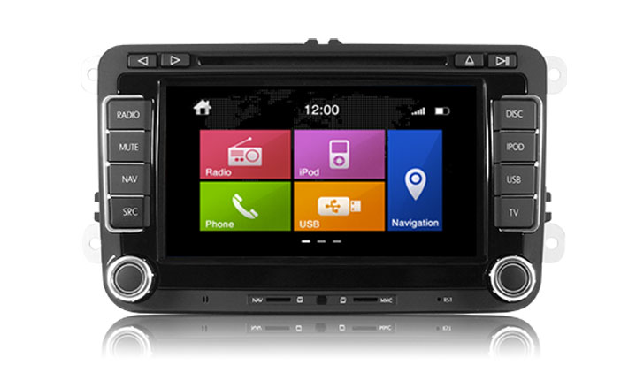 MULTIMEDIA VW DYNAVIN N6 MULTIMEDIA VW DYNAVIN N6 Двоен дин VW PARROT BLUETOOTH DVD GPS