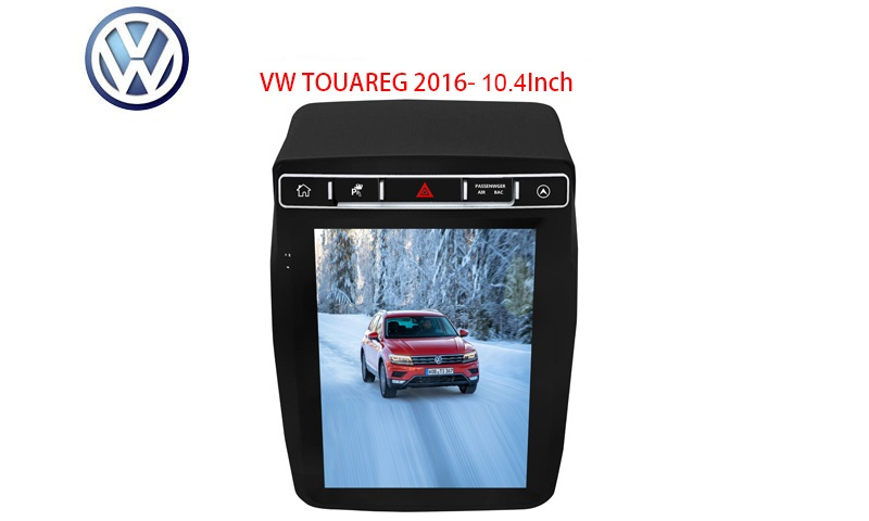 MULTIMEDIA VW TOUAREG 2016 10.4 INCH Двоен дин Навигация за VW TOUAREG 2016  10.4 инча екран Android 9.0  2G/64