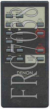 FRC7038 FRC7038 AUX RC406 DENON Model:DRR-730