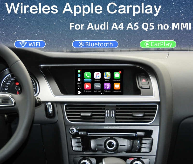 CARPLAY AUDI 2009-2016 SYMC2 CarPlay/Android Auto AUDI 2009-2016 Symphony & Concert