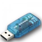 USB SAUND CARD VIRTUAL 2.1CH USB SAUND CARD VIRTUAL 2.1CH USB звукова карта.Съвместим с PC, Mac