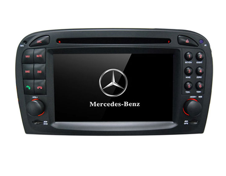 MULTIMEDIA MERCEDES SL R-230 MULTIMEDIA MERCEDES SL R-230 Двоен дин  MERCEDES SL-class  R230 2001-2004